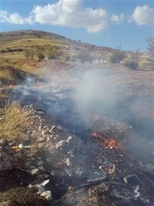 Extinguido el conato de incendio forestal vinculado al fuego de la planta de Motril
