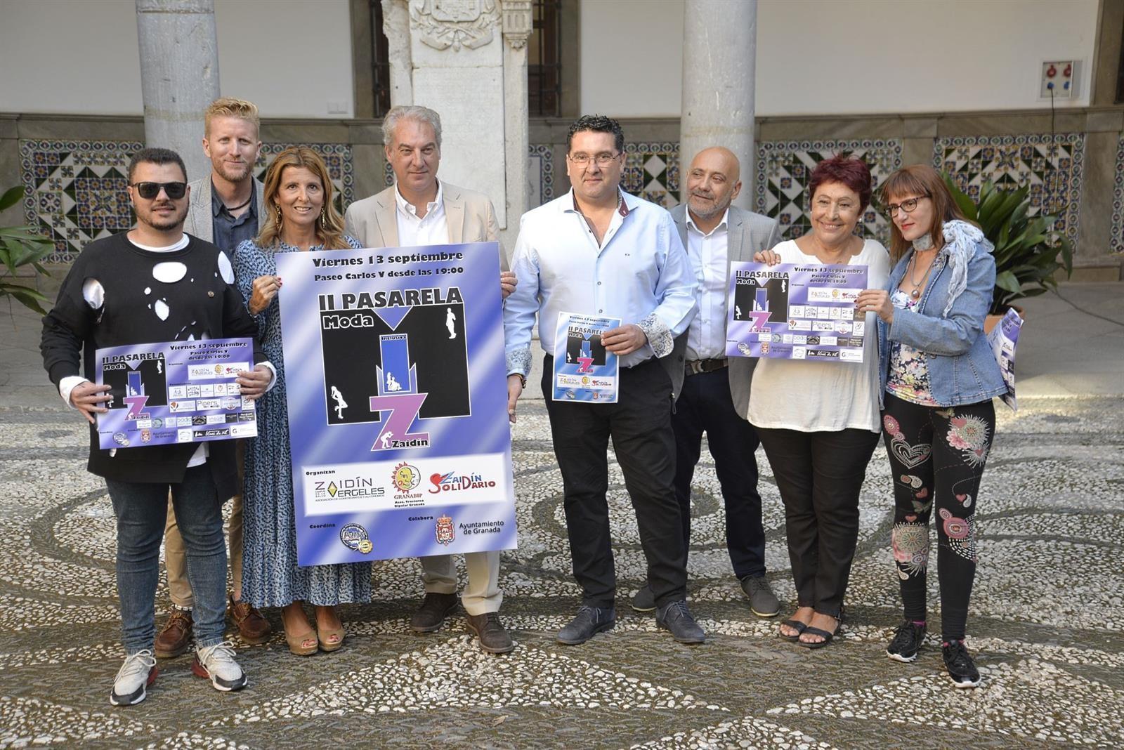 El Zaidín celebra la segunda edición de la pasarela solidaria de moda inclusiva