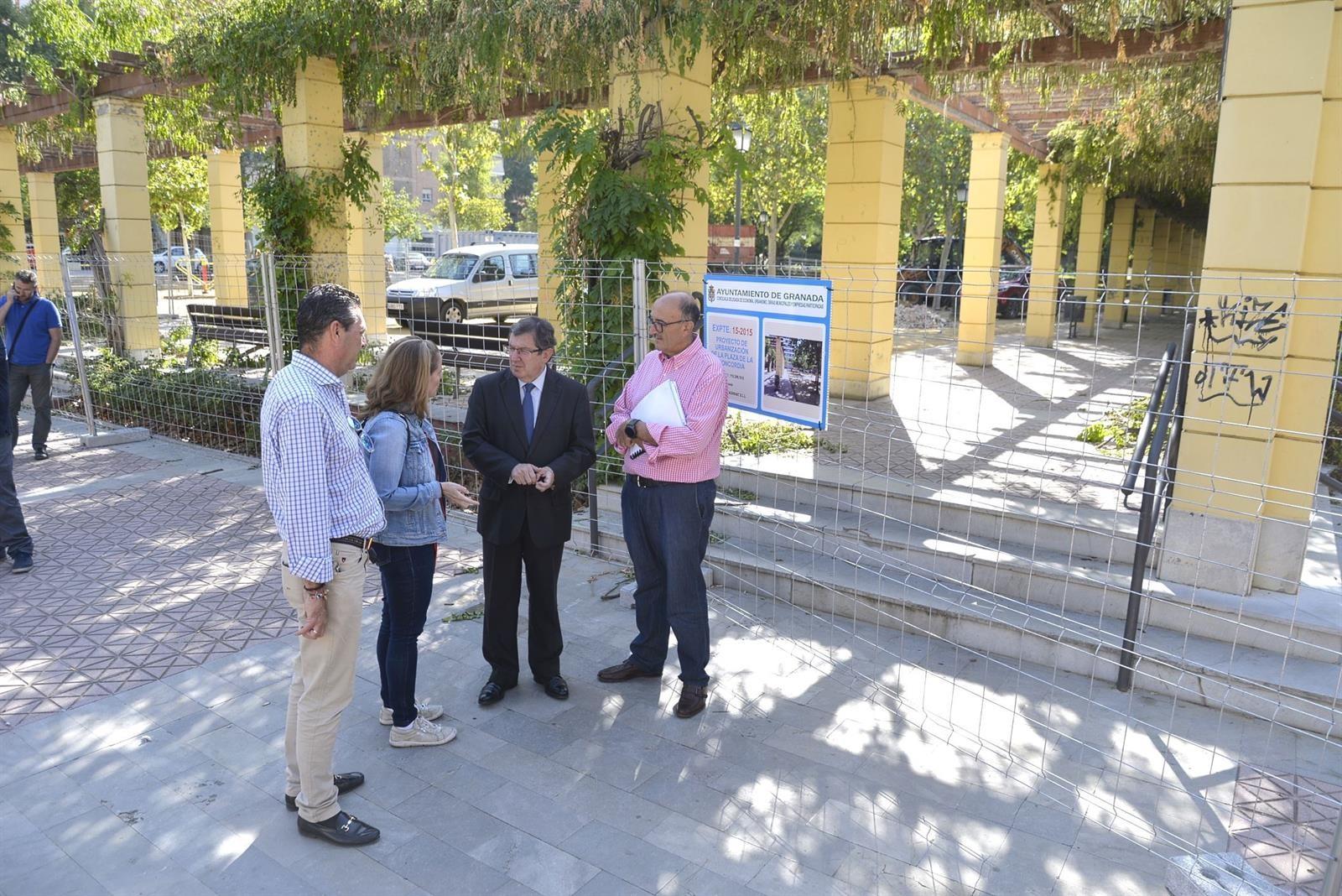 Comienzan las obras de la Plaza de la Concordia, en el Zaidín
