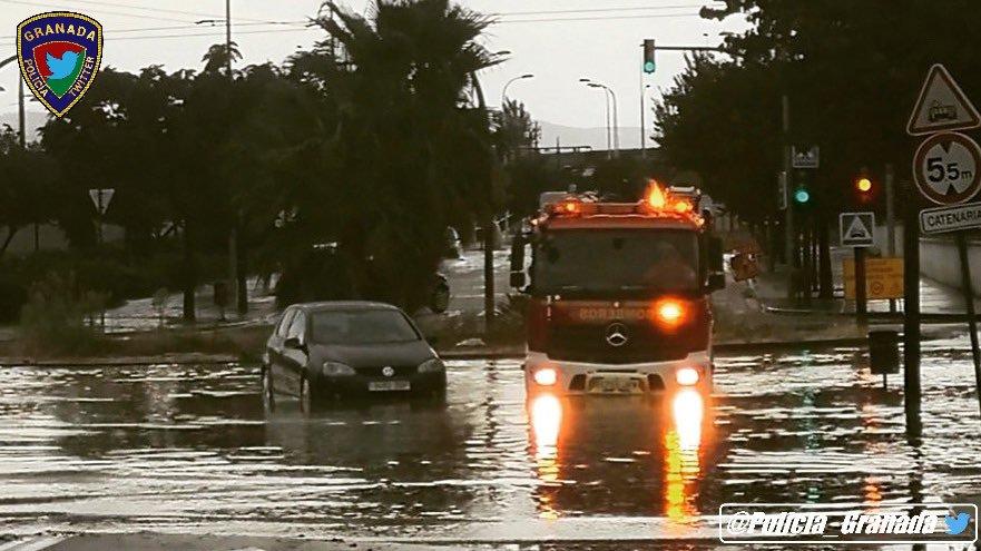 Una gran tormenta provoca incidentes en una veintena de municipios