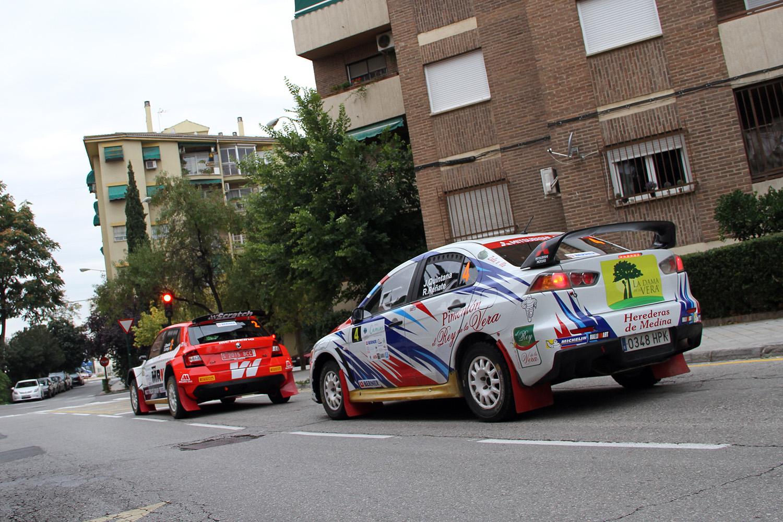 53 equipos participan en la VII edición del Rally Ciudad de Granada