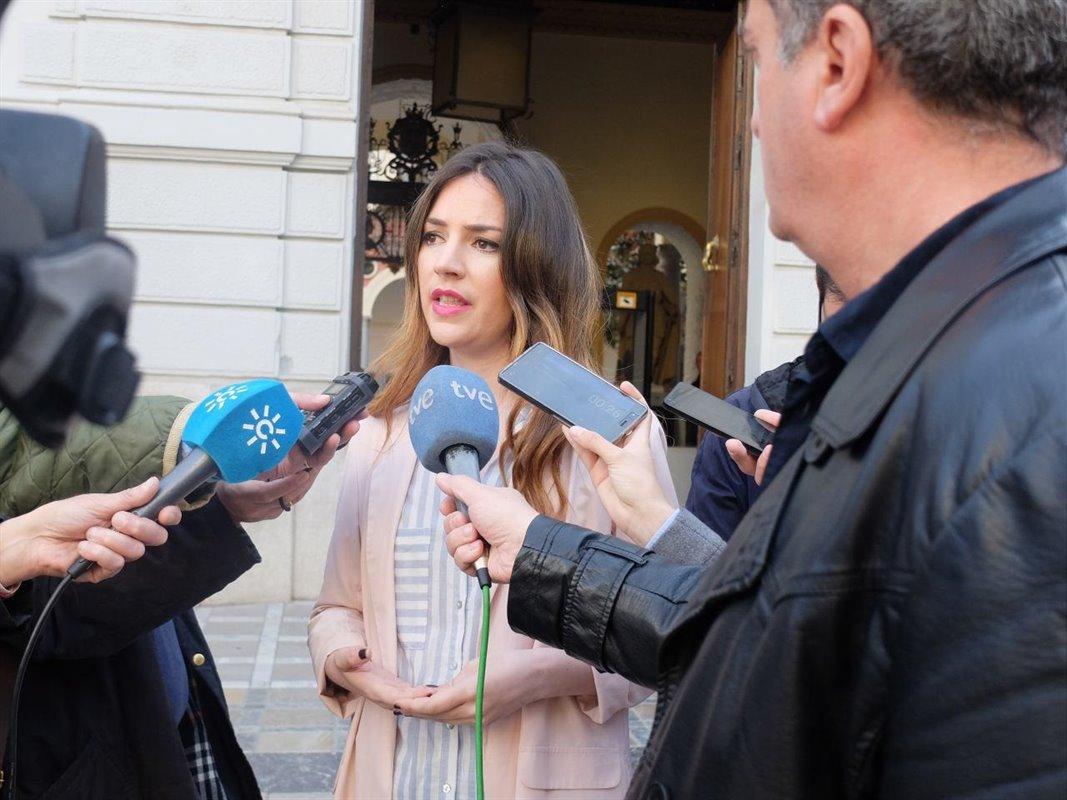 Ana Terrón, cabeza de lista de Más País para el Congreso por Granada