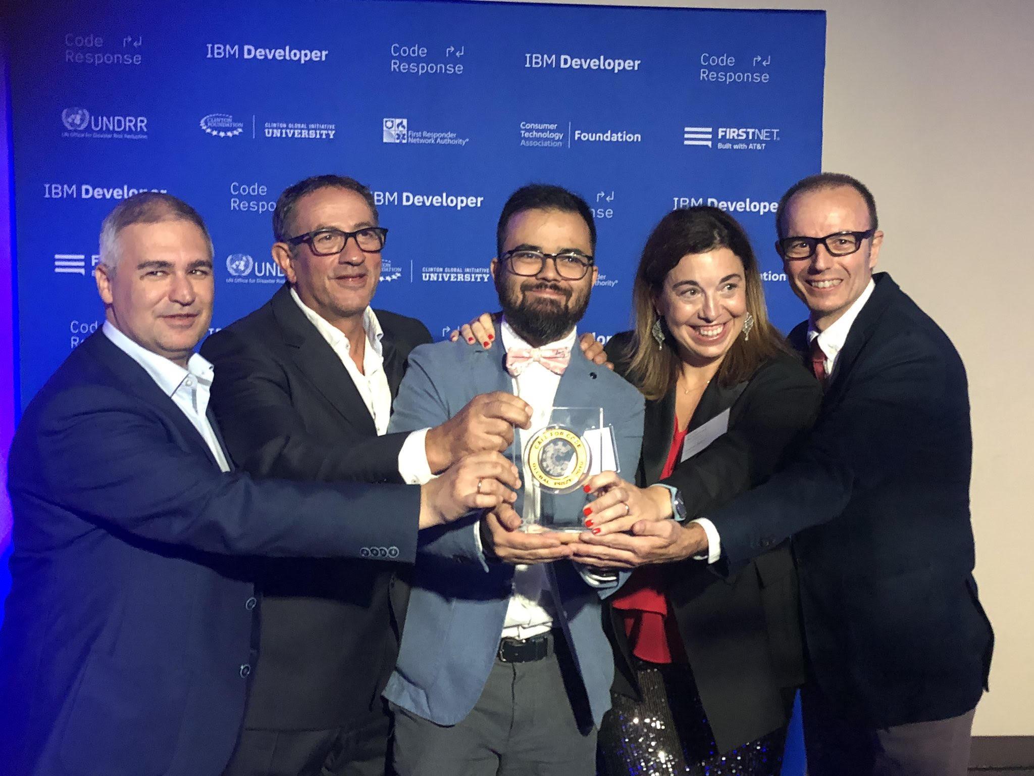 Un 'alumni' de la Universidad de Granada gana el premio de la ONU 'Call For Code'
