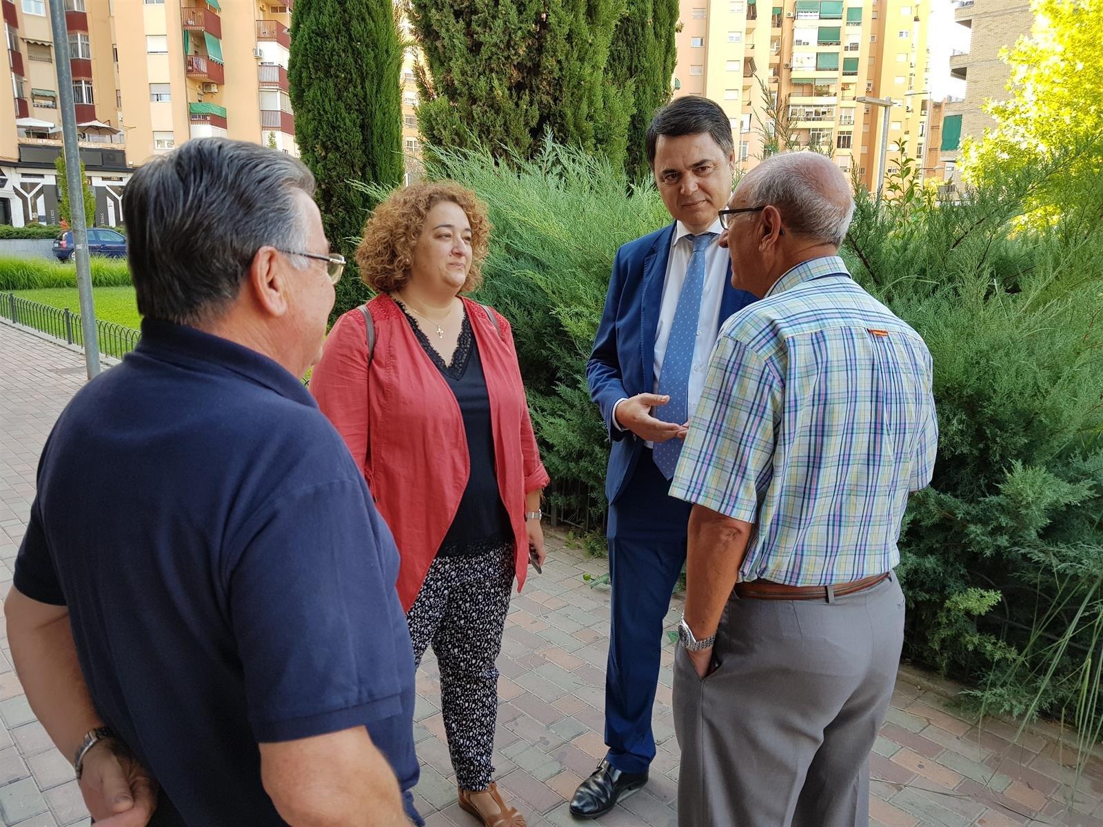 Carlos Rojas apuesta por propuestas «puerta a puerta» tras «año muy malo para Granada»
