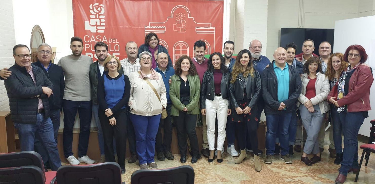 El PSOE de Loja constituye su nueva Ejecutiva local, con Carmen Ortiz como secretaria general