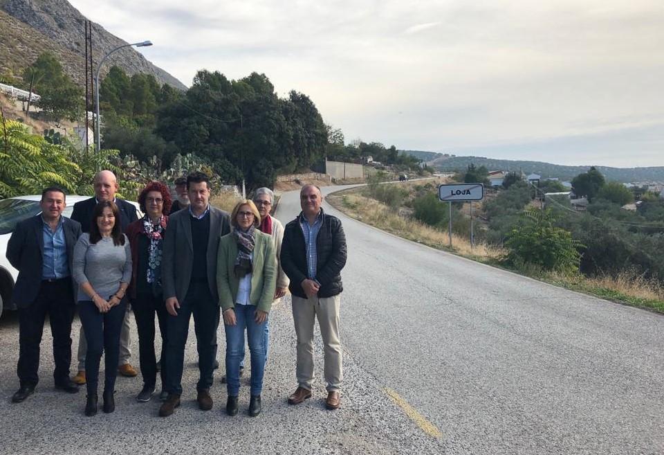 El PSOE pide a la Junta máxima transparencia tras la rescisión contrato de la Loja-Ventorros