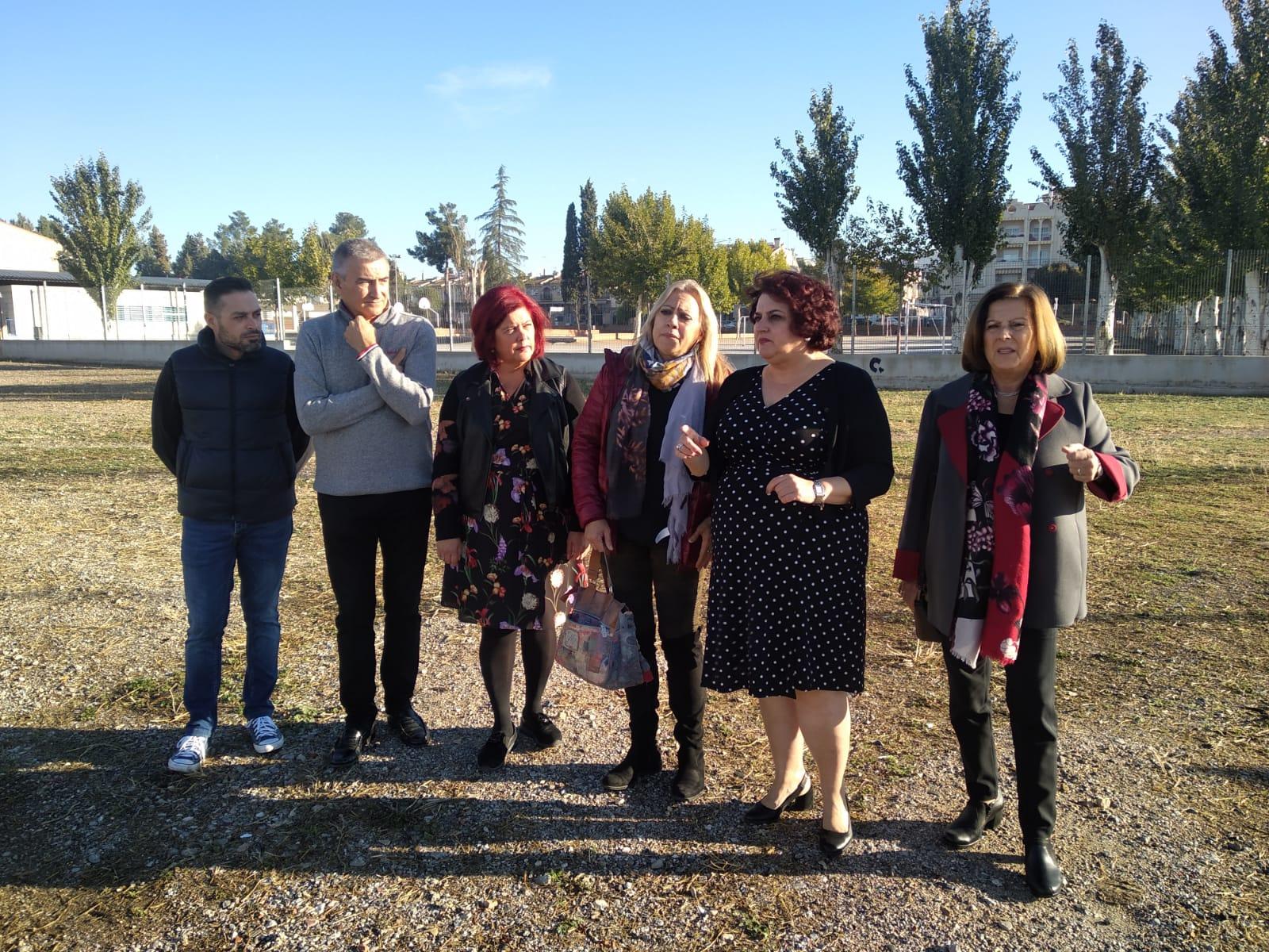 El PSOE denuncia la ausencia de una partida provincializada para la construcción del nuevo instituto de Albolote