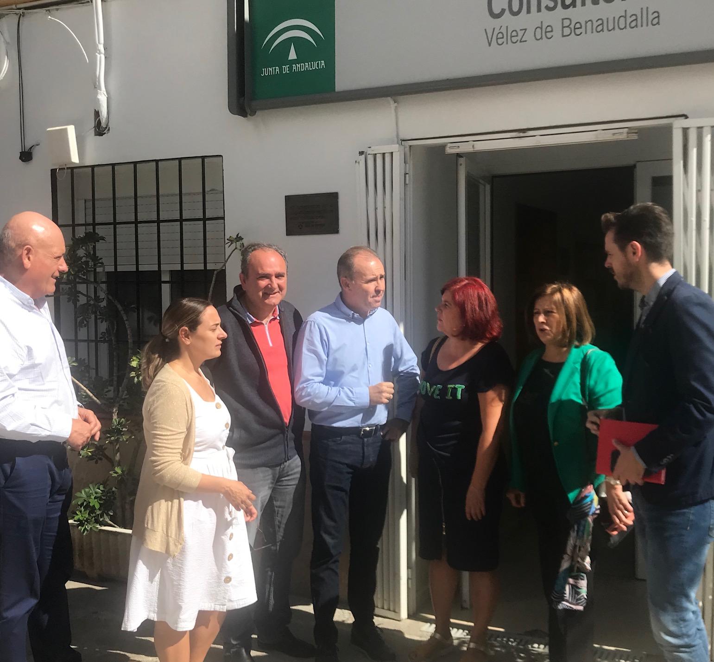 El PSOE exige a la Junta la construcción del consultorio de Vélez de Benaudalla