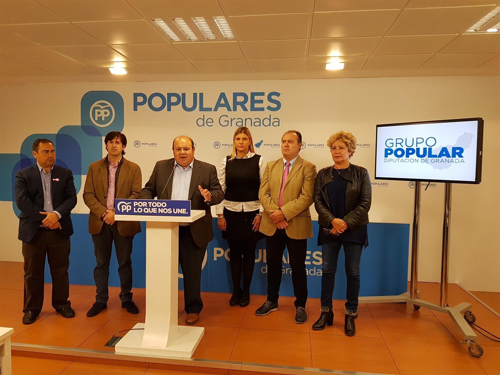 El PP critica «sectarismo y rodillo» en los cien primeros días del gobierno del PSOE en Diputación