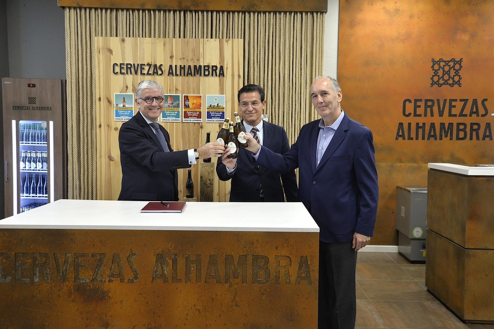 Granada y Cervezas Alhambra refuerzan su vínculo