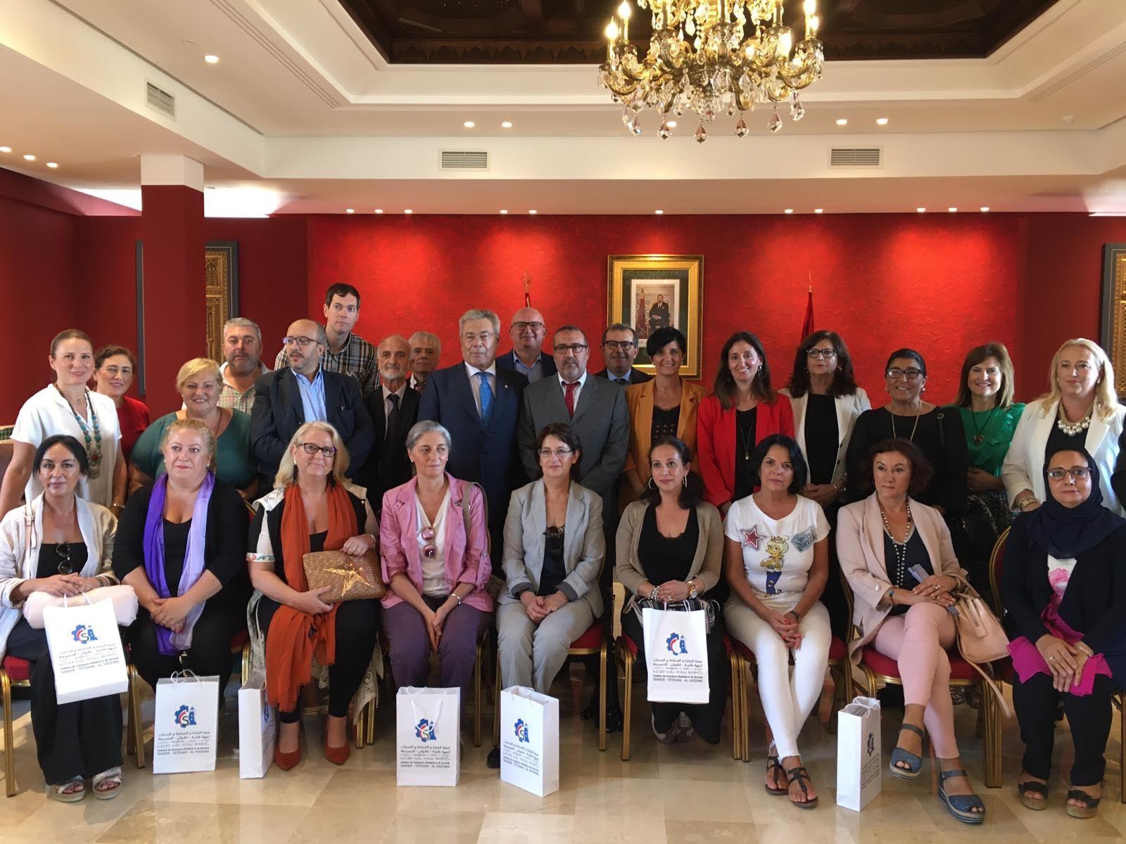 Mujeres empresarias de la provincia participan en un encuentro comercial en Marruecos