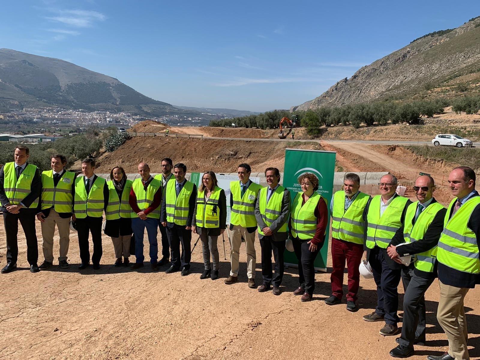 La Junta rescinde el contrato de la carretera Loja-Ventorros y garantiza la continuidad del proyecto