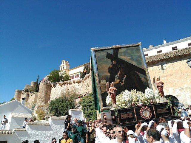 La Junta declara la procesión del Cristo del Paño de Moclín como Fiesta de Interés Turístico