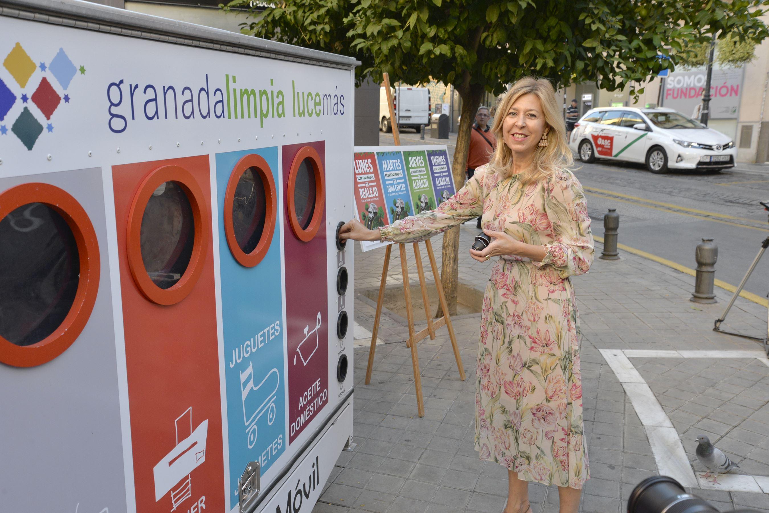 Un ecoparque móvil recogerá residuos en los barrios históricos