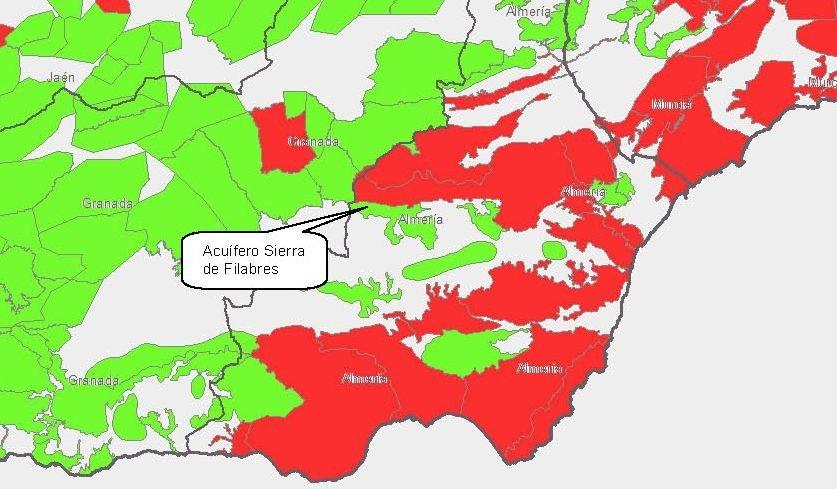 Los pozos de emergencia para riego en el Almanzora podrían secar los abastecimientos del Altiplano
