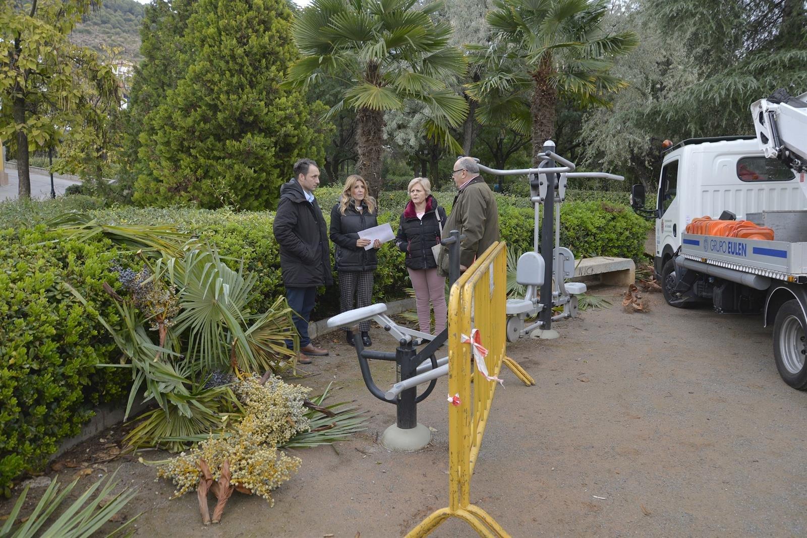 El Ayuntamiento activa un plan especial de mejora de parques y jardines