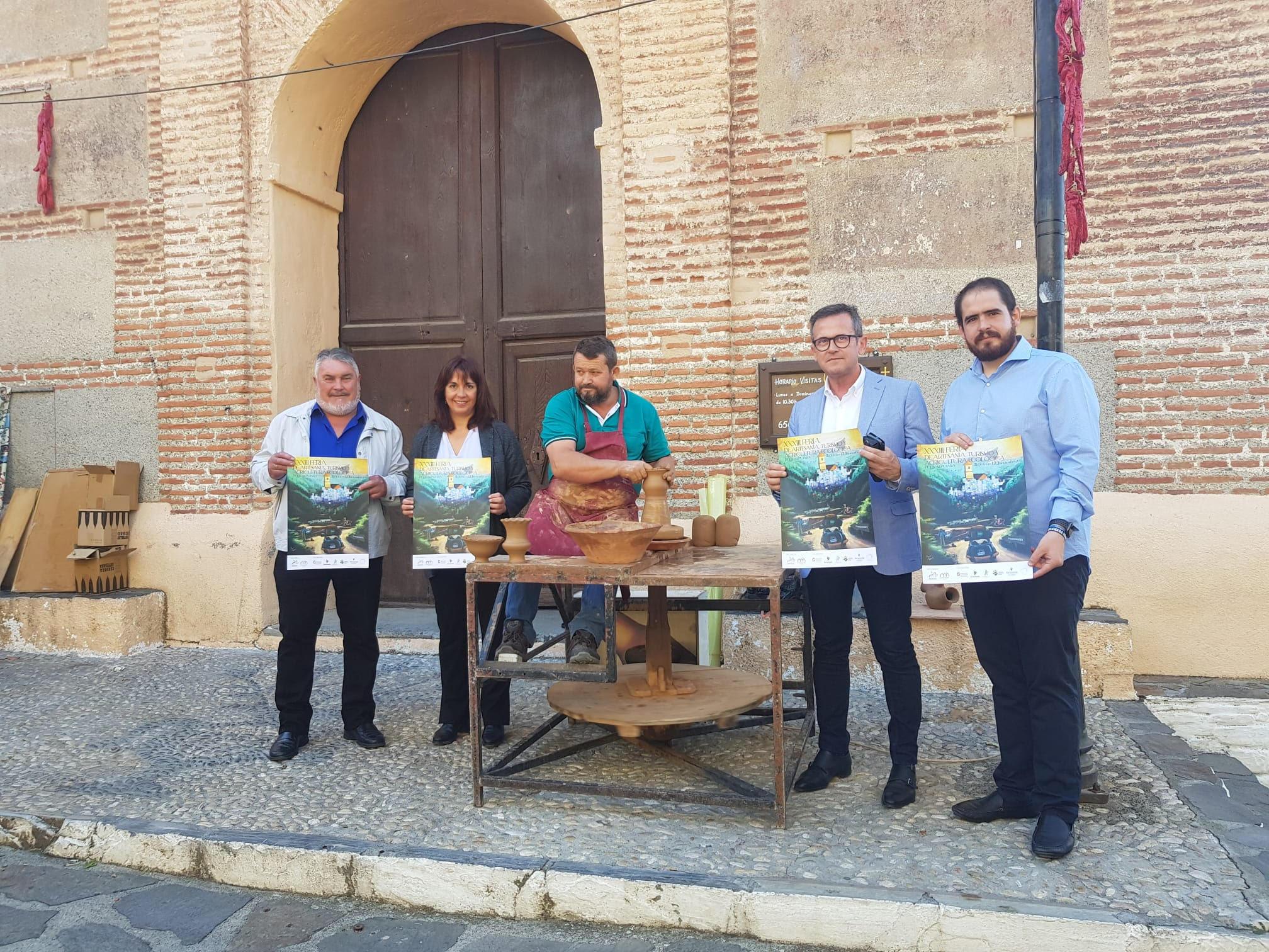 Arranca en Pampaneira la XXXIII edición de la Feria de Artesanía, Turismo y Agricultura Ecológica de La Alpujarra
