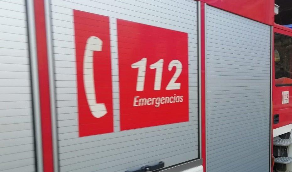 Tres afectados, dos de ellos menores, por inhalación de humo en un incendio en Santa Fe