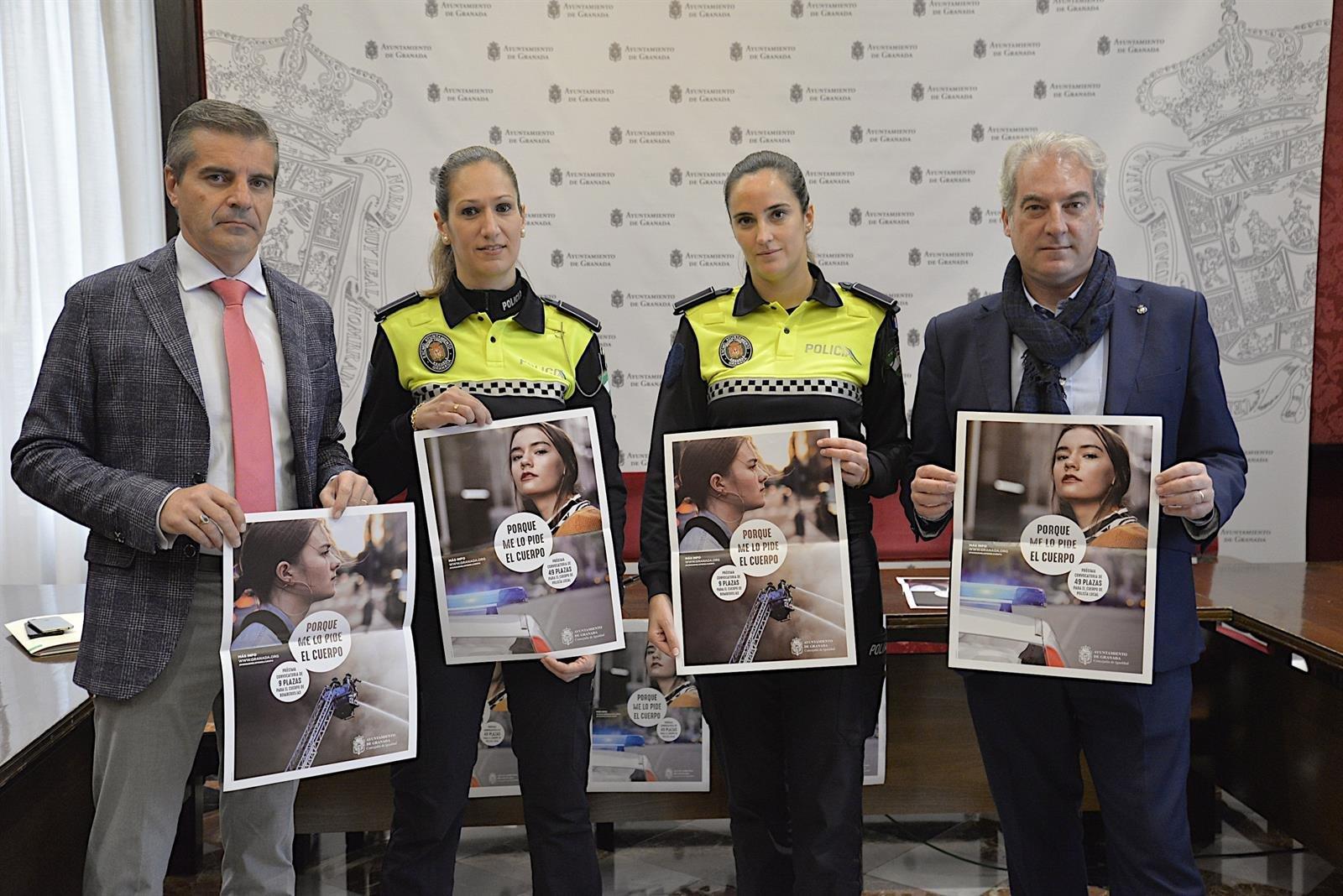 El Ayuntamiento impulsa la entrada de mujeres en Policía Local y Bomberos