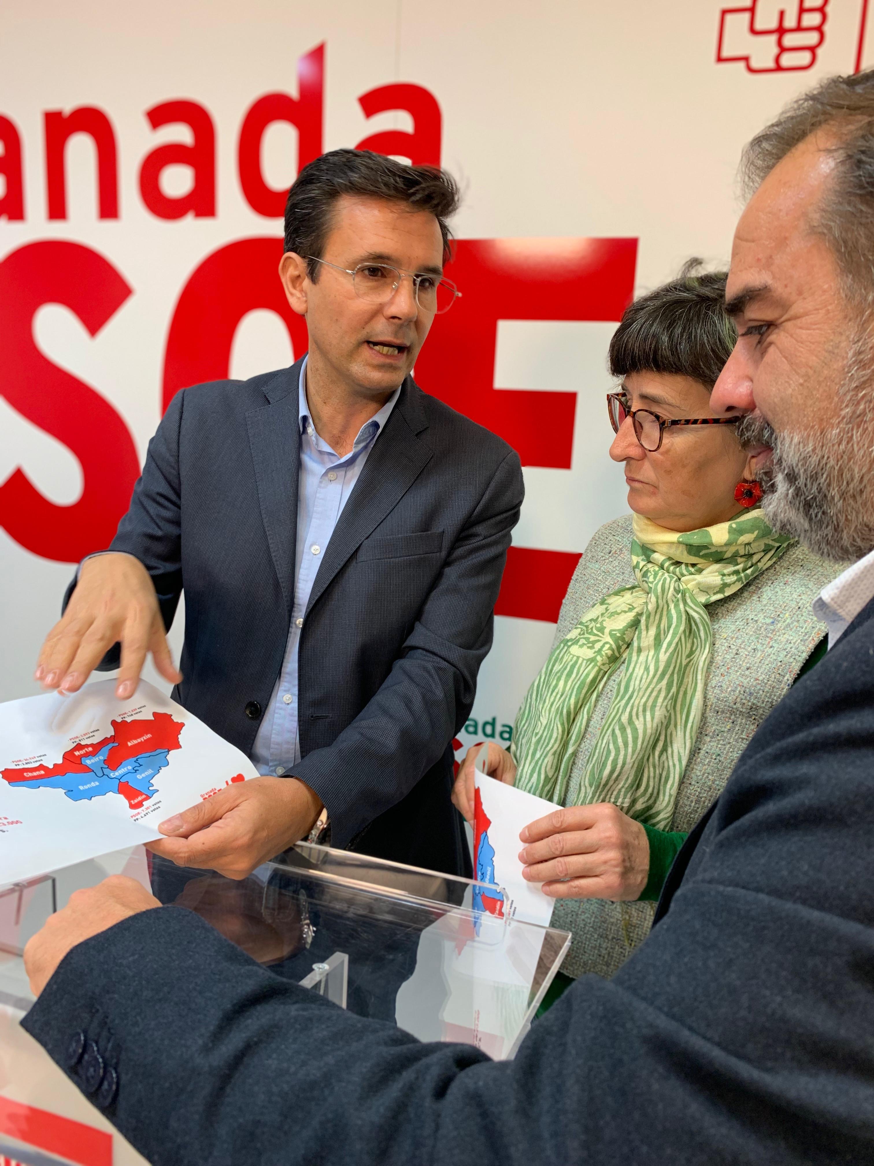 El PSOE plantea una moratoria en los impuestos municipales para «que ningún granadino se quede atrás»