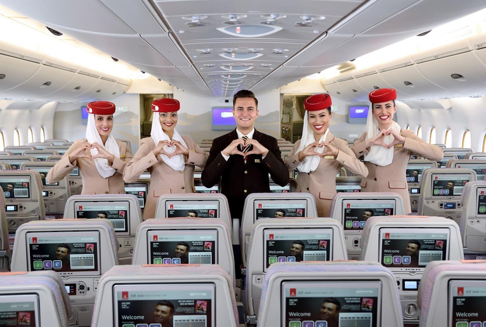 Emirates buscará tripulantes de cabina en Granada el próximo mes de diciembre