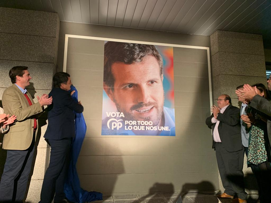 #10N: El PP de Granada arranca su campaña electoral dispuesto a ganar y convertir a Pablo Casado en el próximo presidente del Gobierno