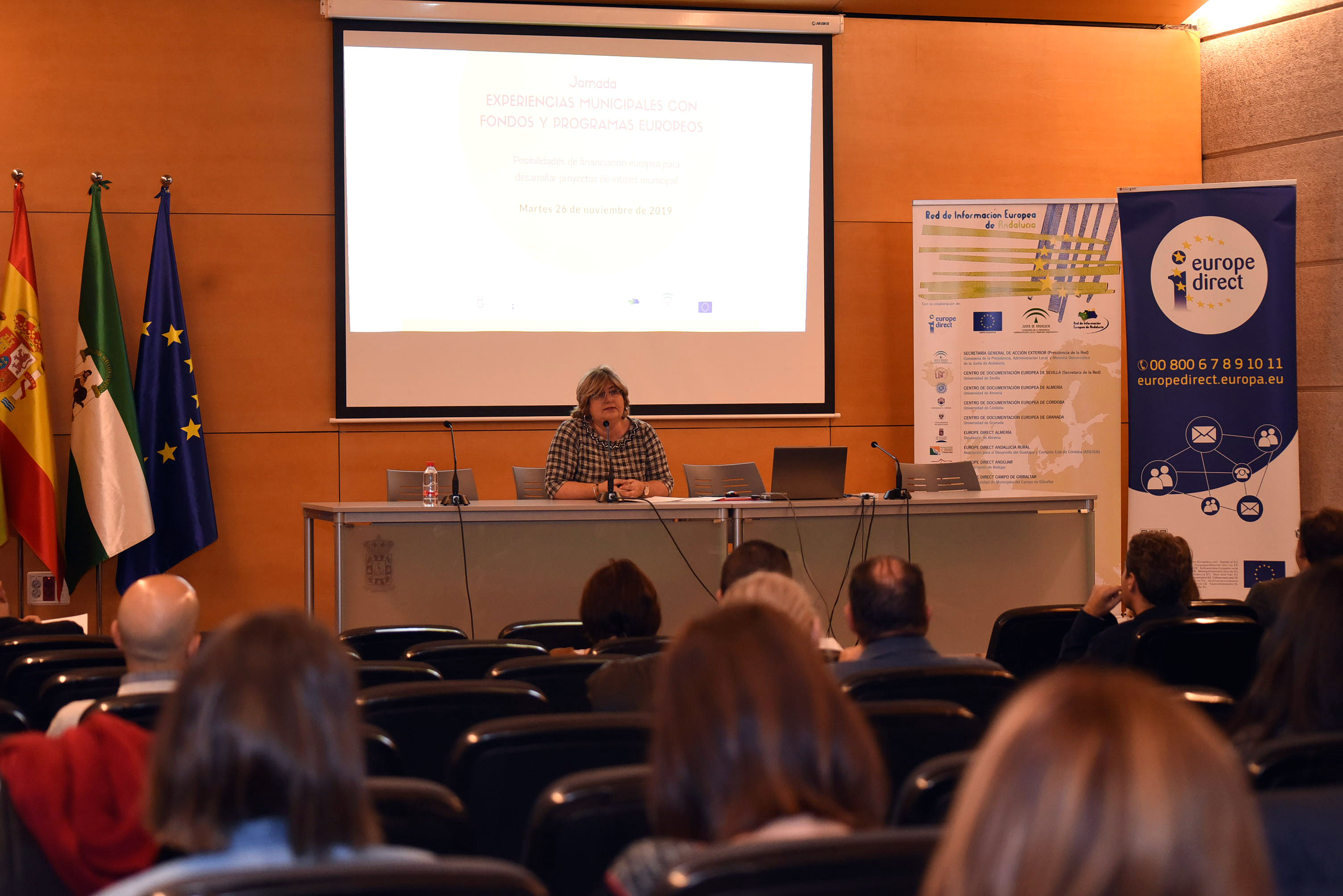 La Diputación propicia un foro de buenas prácticas para abordar proyectos europeos en municipios