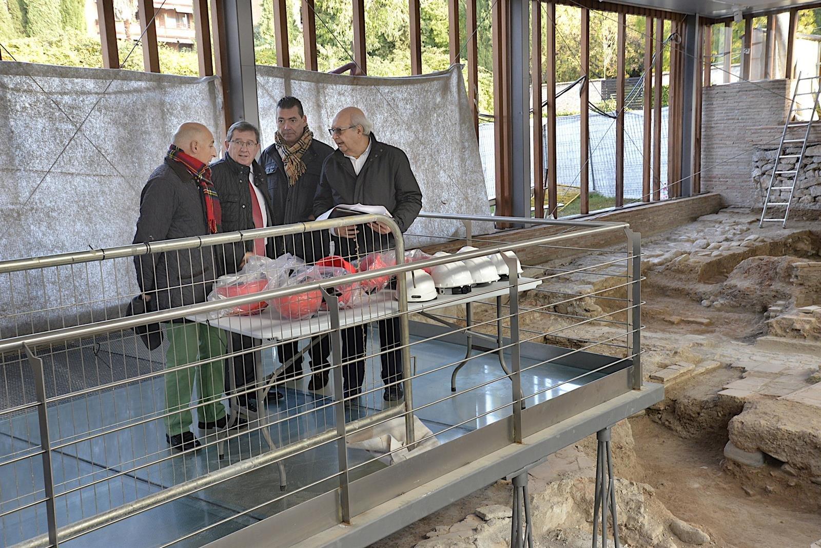 Los restos arqueológicos de los palacios de Mohamed II se abrirán al público antes de Navidad