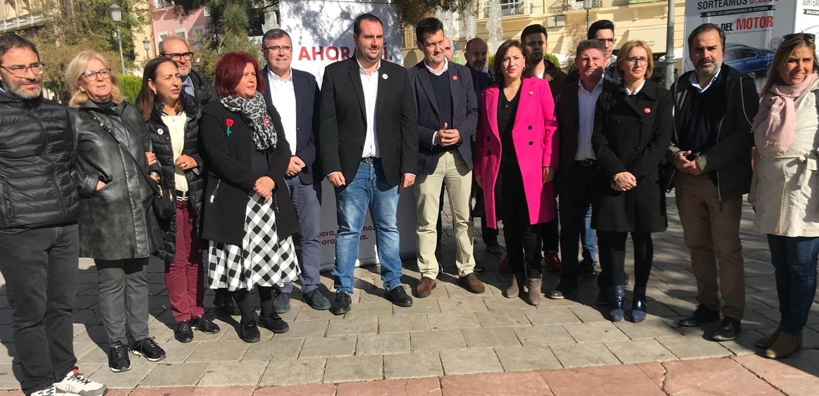 #10N: El PSOE pide el voto masivo para salir del «bloqueo provocado por las derechas»