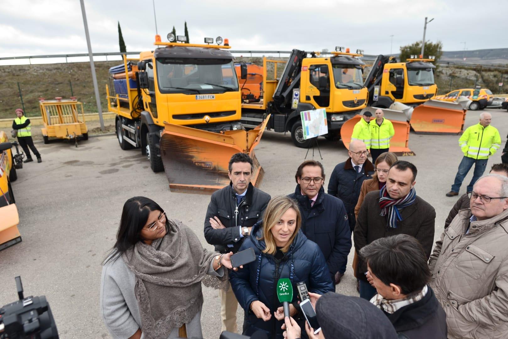 Más de 400 profesionales y 156 máquinas harán frente a las nevadas en los meses de invierno