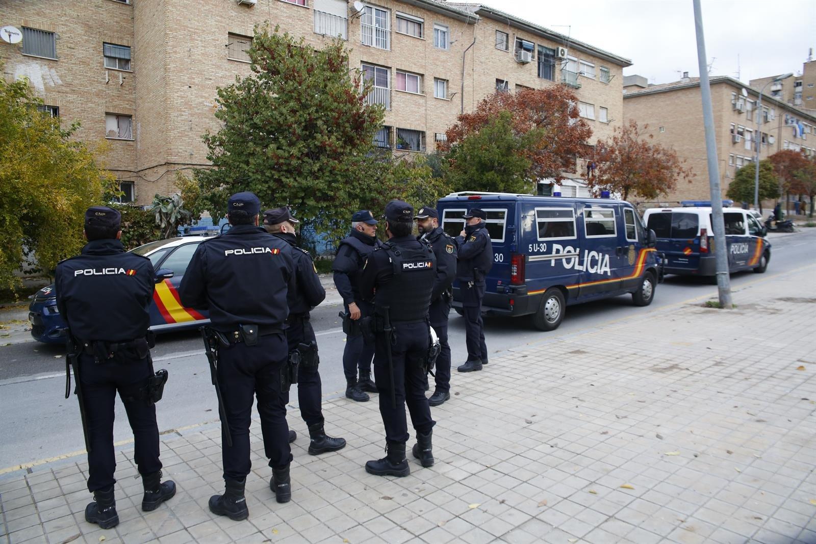 Cuatro detenidos tras atropellar un policía local a un manifestante de la tractorada