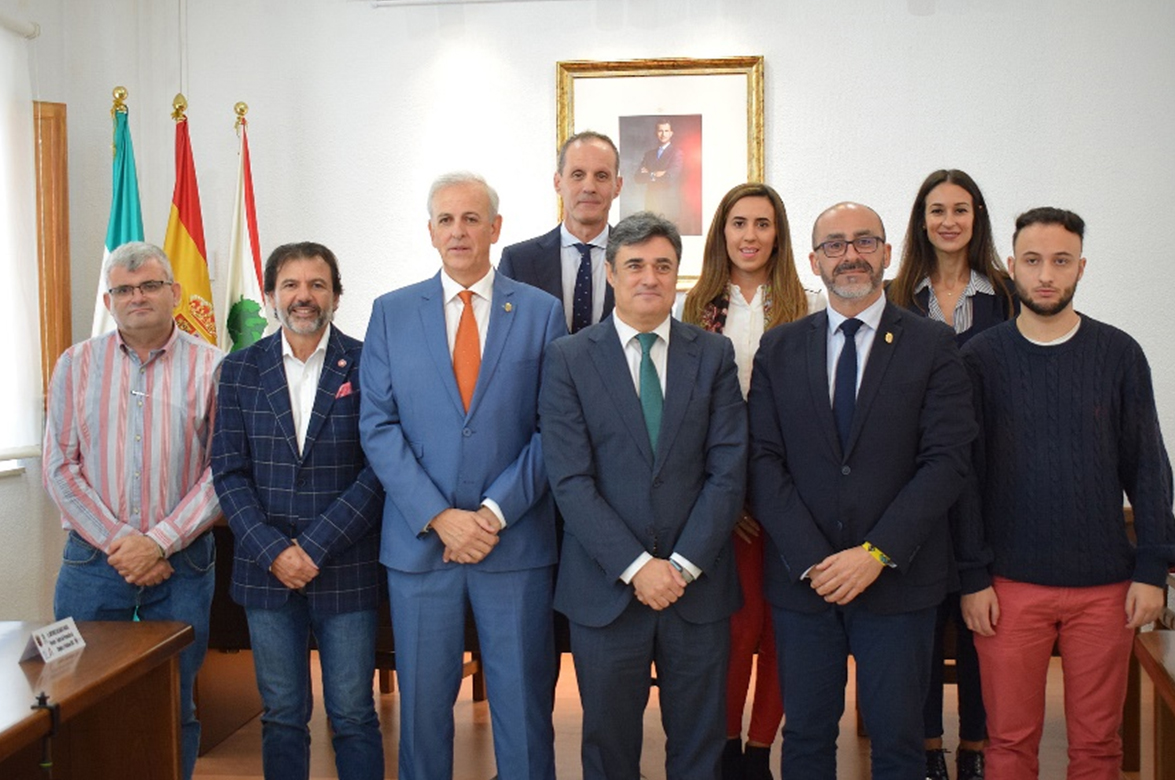 La UGR y el Ayuntamiento de Albolote refuerzan su colaboración en materia de prácticas