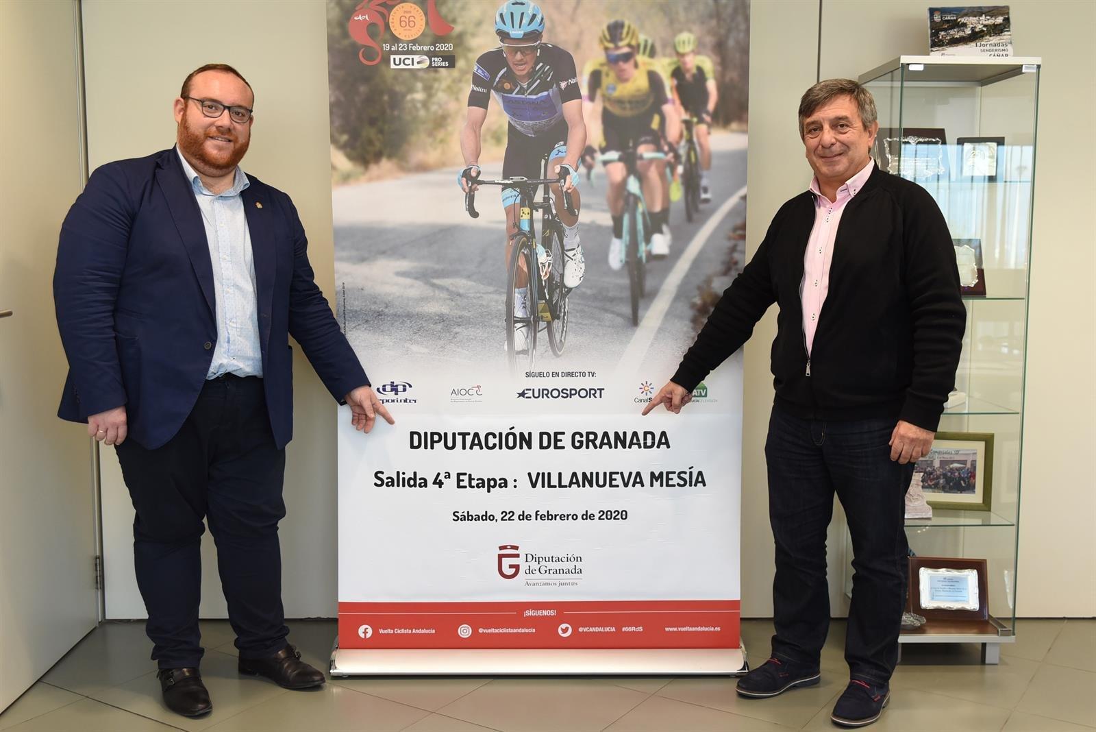 La cuarta etapa de la Vuelta Ciclista a Andalucía recorrerá 19 poblaciones de la provincia