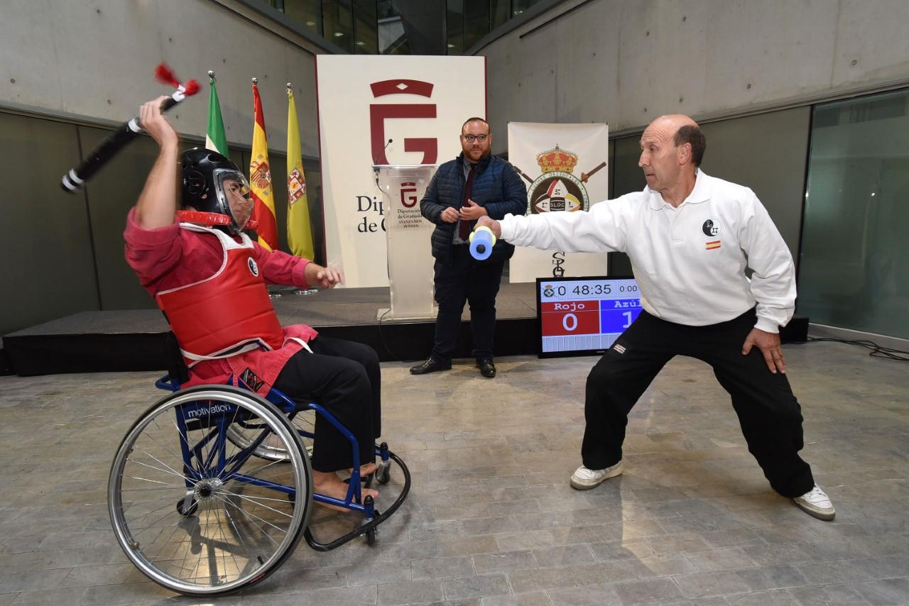 Armilla acogerá el 30 de noviembre el tercer Trofeo SLOC de deporte inclusivo de Diputación