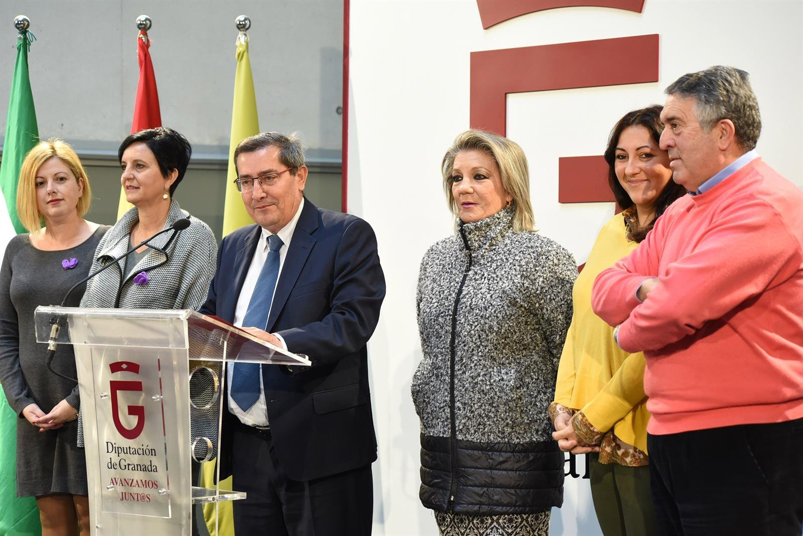 Una decena de ejes y 83 medidas: así es el Pacto Provincial Contra la Violencia de Género de Granada
