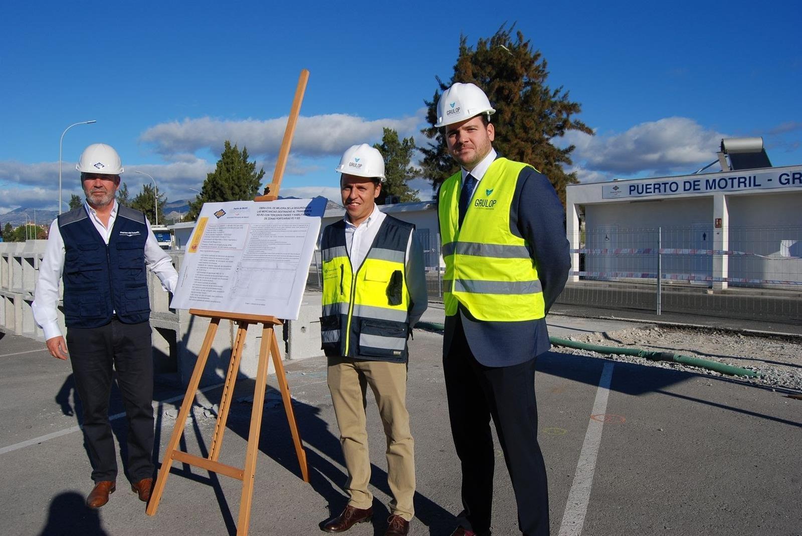 El Puerto de Motril trabaja en un nuevo Área de Depósito Temporal en el Muelle de las Azucenas