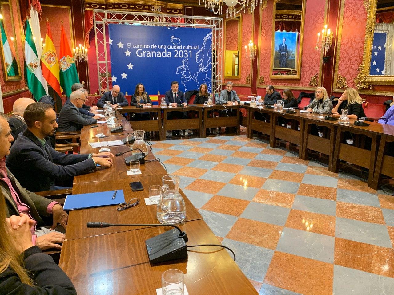 Granada da el primer paso del largo camino para ser Capital Cultural Europea 2031