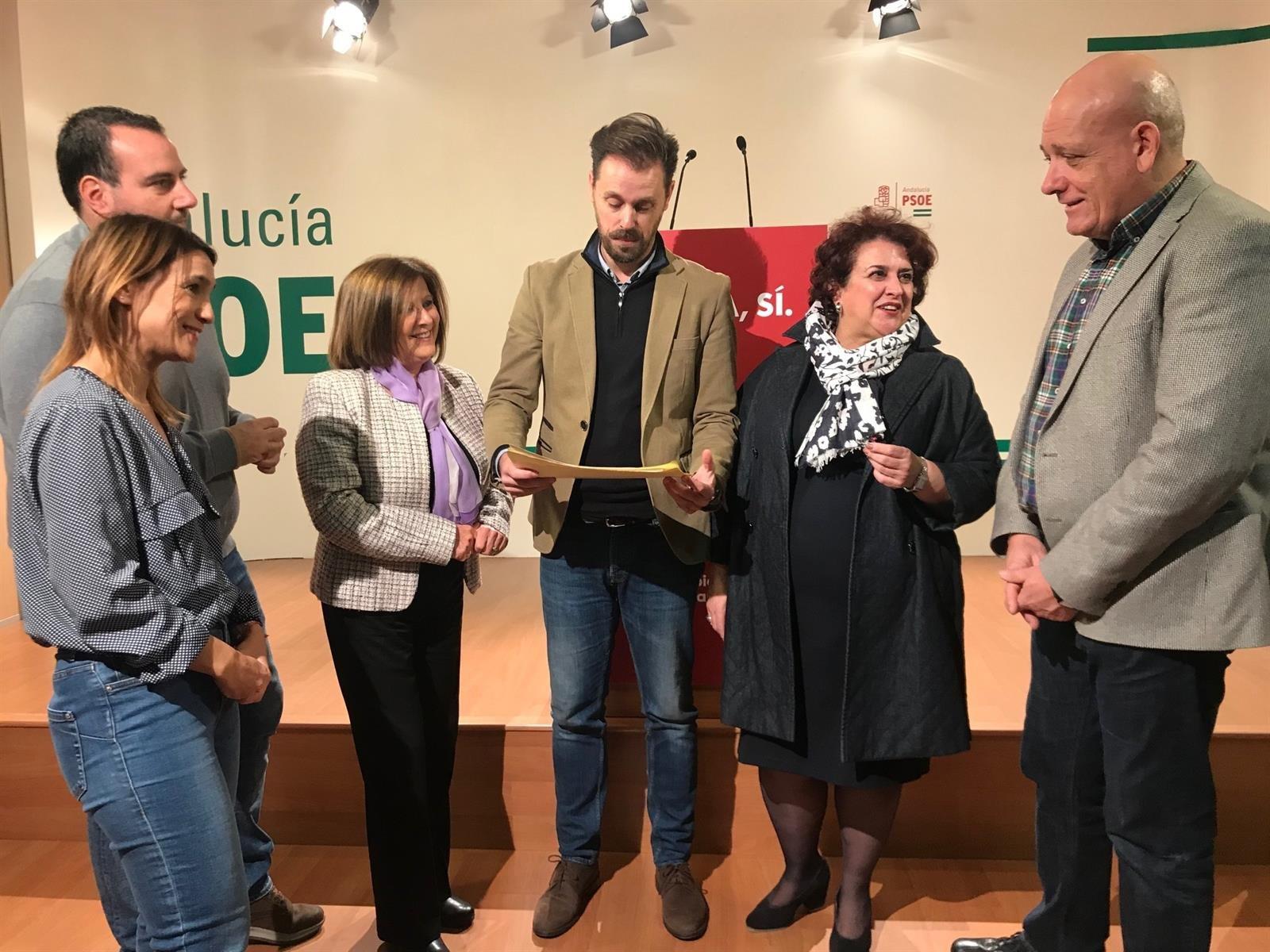 El PSOE presenta enmiendas a los presupuestos andaluces de 2020 por valor de 100 millones de euros