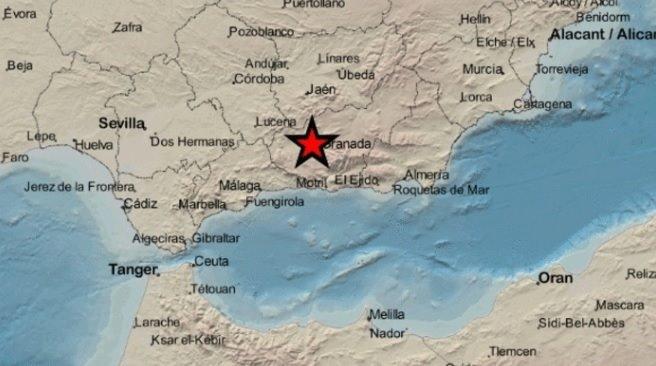 Registrado en Atarfe un terremoto de magnitud 2,9