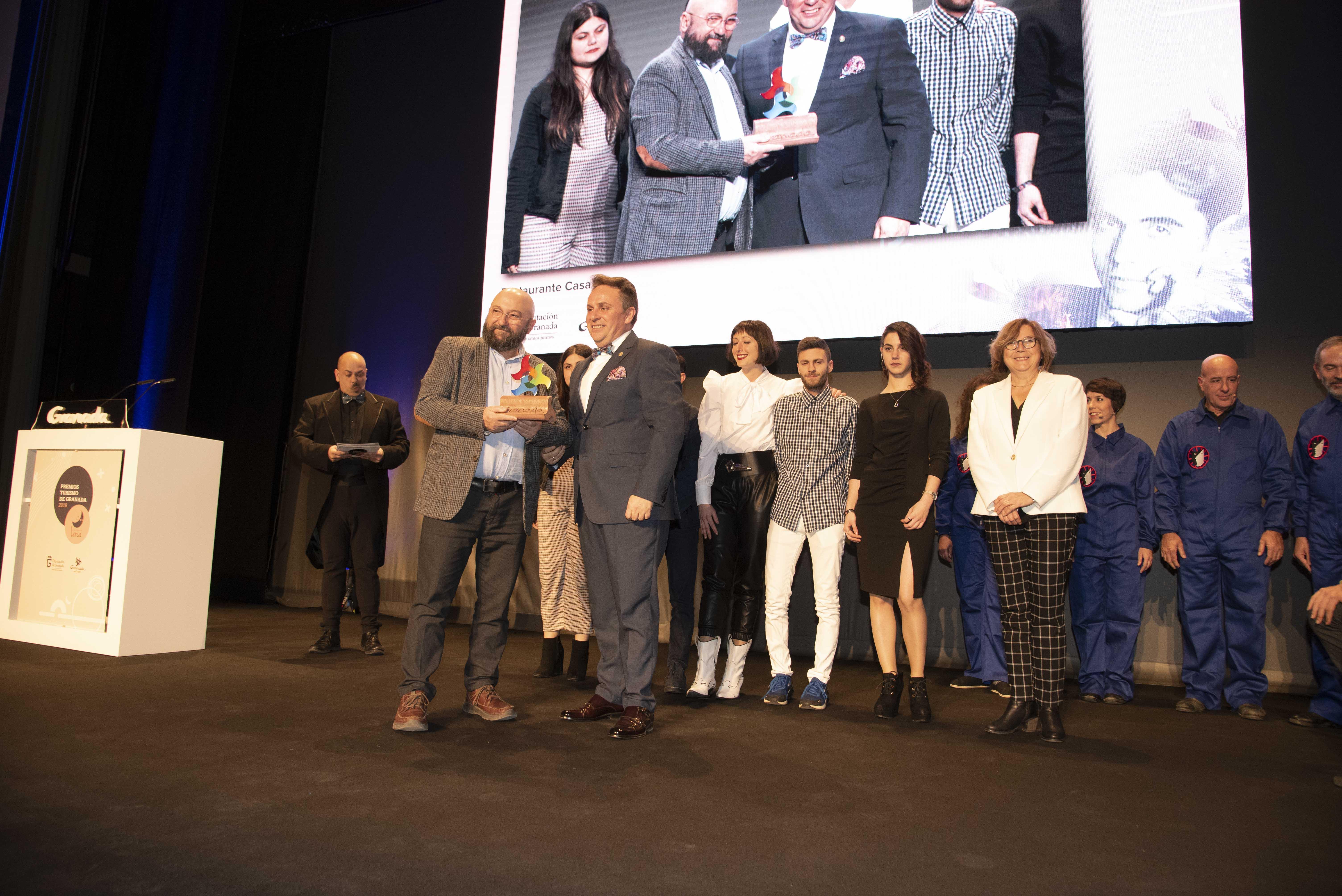 La Universidad de Granada, la Villa Romana de Salar y el restaurante Casa Piolas de Algarinejo, Premios Turismo de Granada 2019