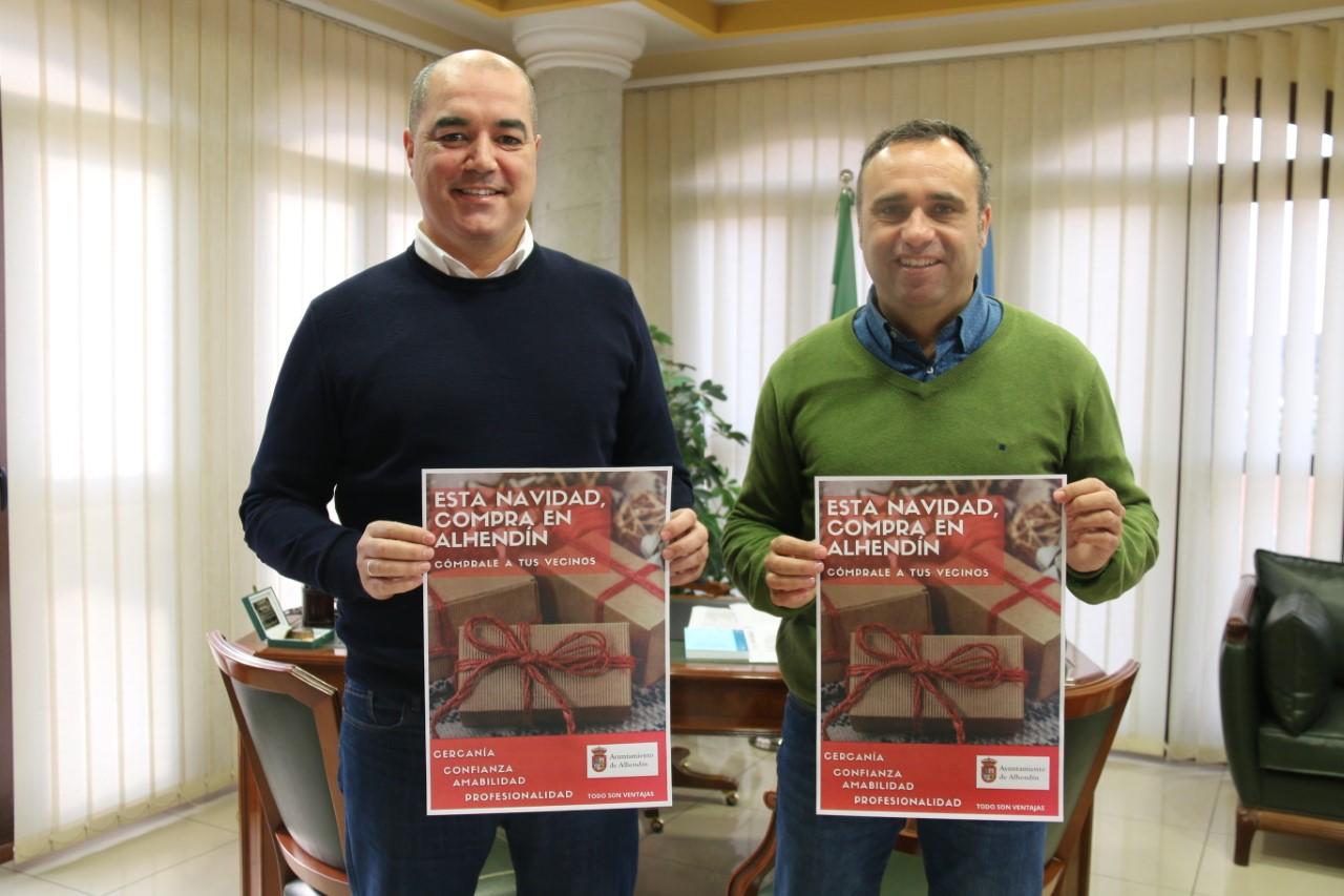 Alhendín se suma a las campañas municipales para potenciar el comercio local