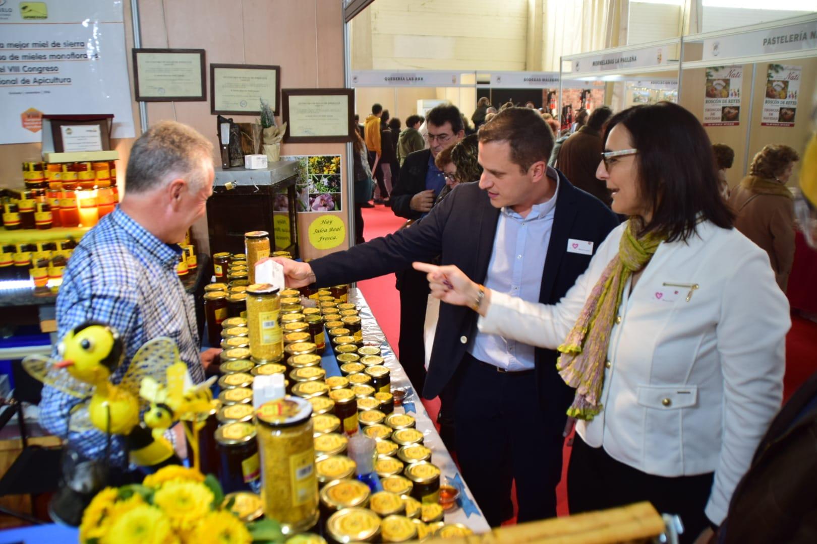 Gran participación en el arranque de la XXI Feria Agroalimentaria de Padul