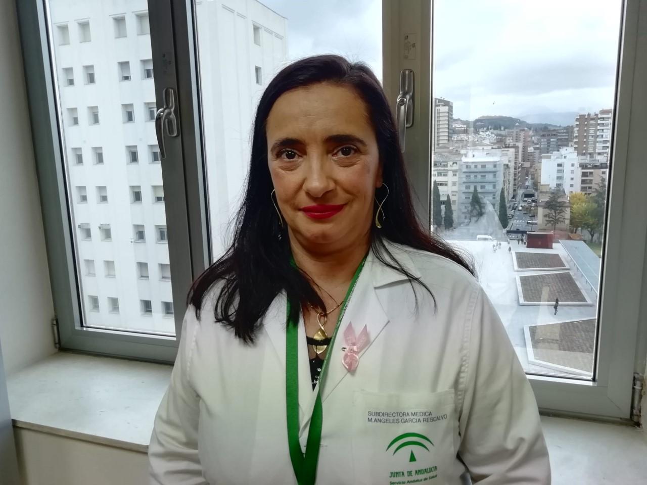 Salud nombre a María de los Ángeles García nueva gerente del Hospital Virgen de las Nieves