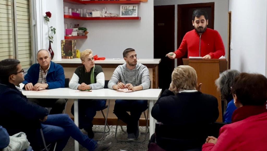 El PSOE de Lanjarón renueva y amplía su ejecutiva con el respaldo unánime de la militancia