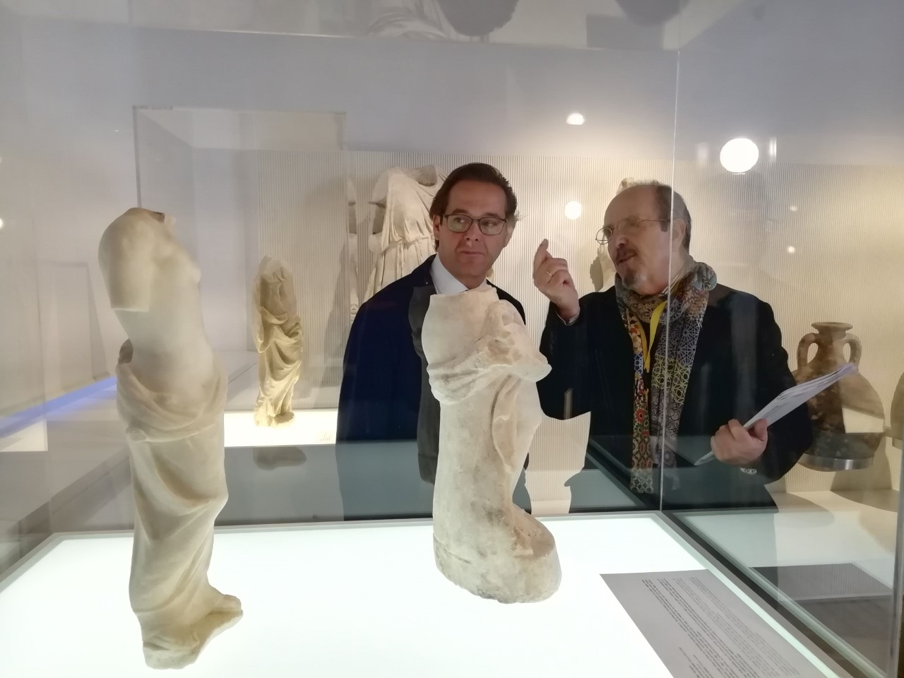 Las Ninfas de Salar ya pueden ser visistadas dentro de la exposición 'Tesoros del Museo Arqueológico'