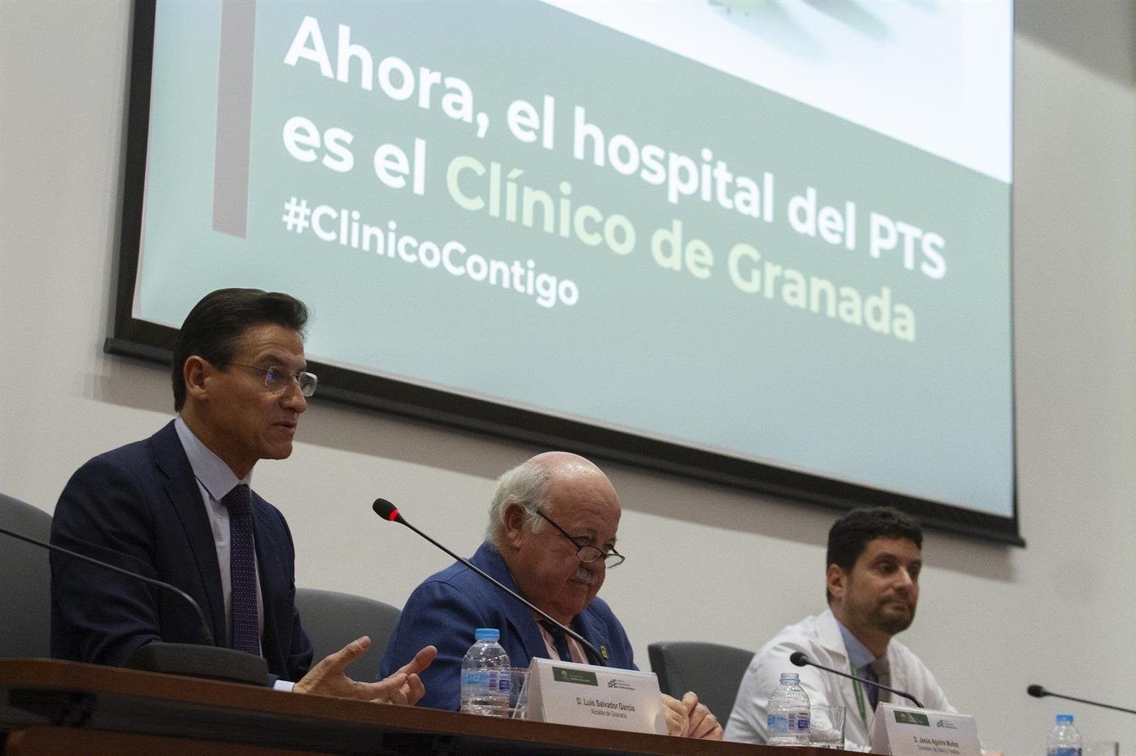El Hospital Clínico San Cecilio lanza la campaña 'ClínicoContigo' para comunicar su cambio de nombre
