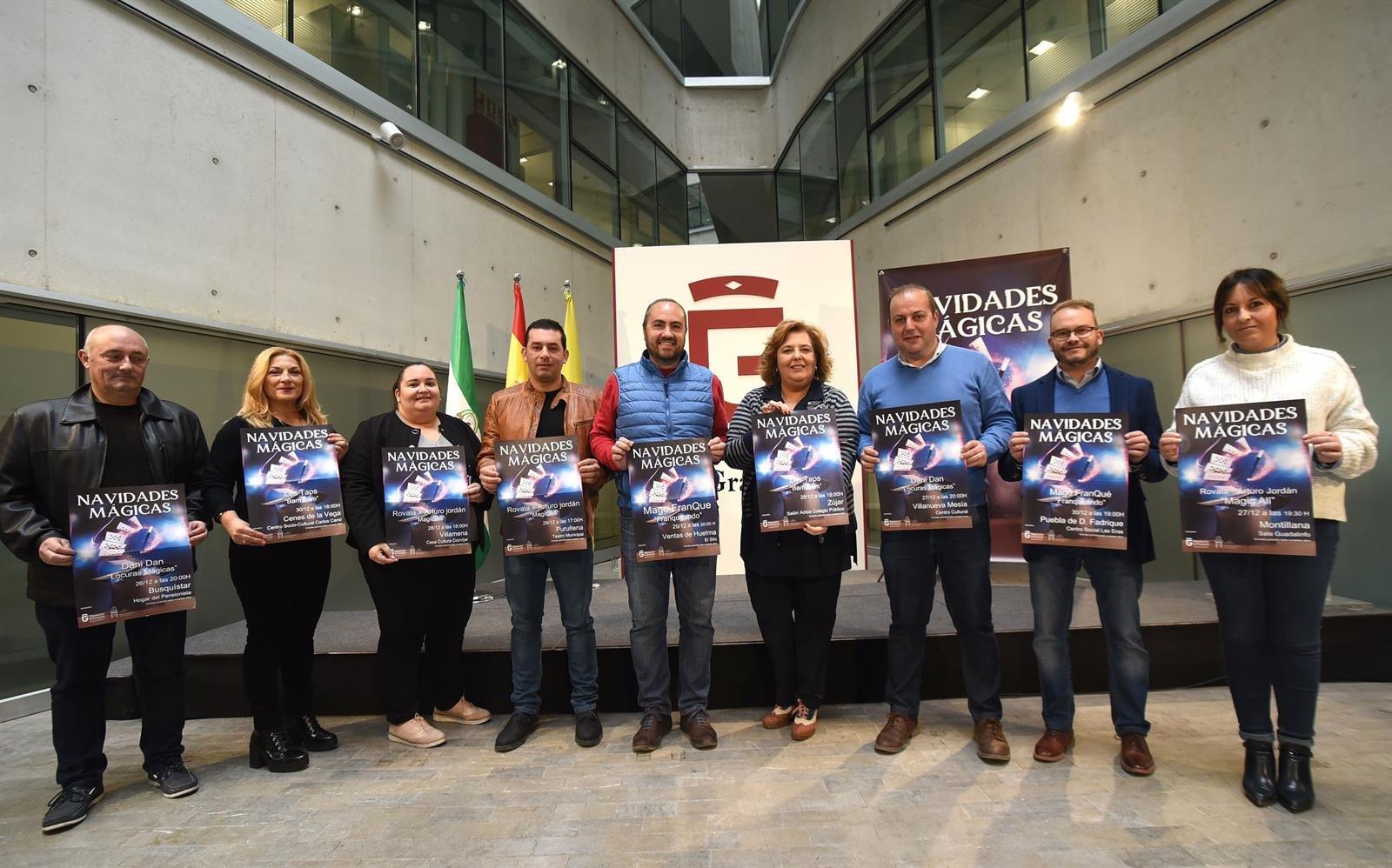 La Diputación amplía el programa 'Navidades Mágicas' a 20 municipios de la provincia