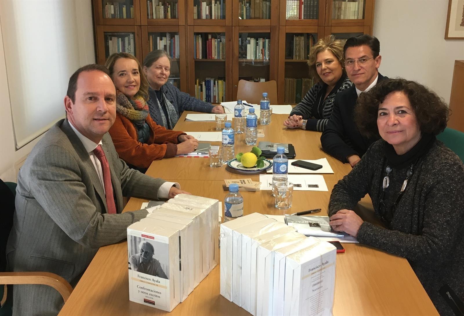 La Fundación Francisco Ayala aprueba sus presupuestos y el plan de actuación para 2020