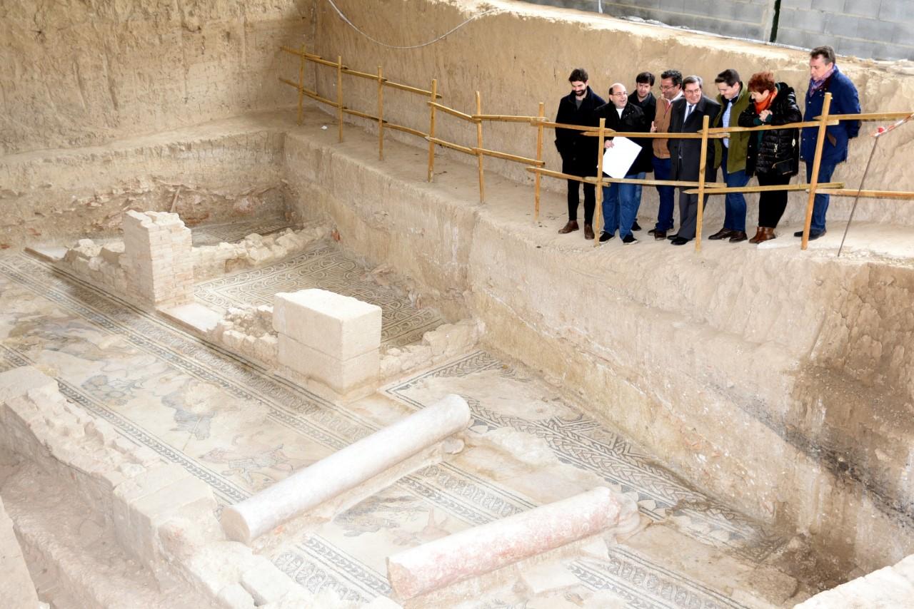 Salar confinará a los arqueólogos que excaven en la Villa Romana durante Agosto