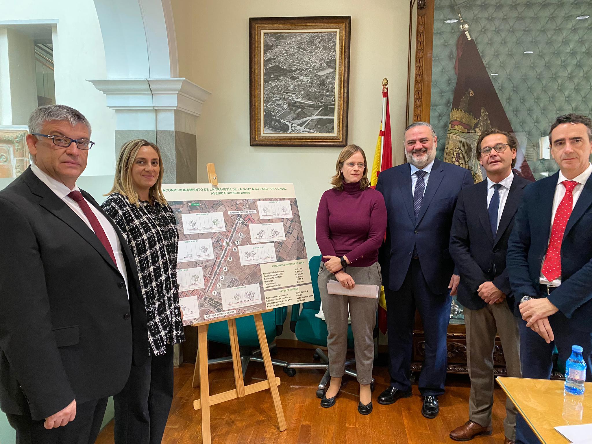 La reforma de la Avenida de Buenos Aires de Guadix comenzará a lo largo de 2020